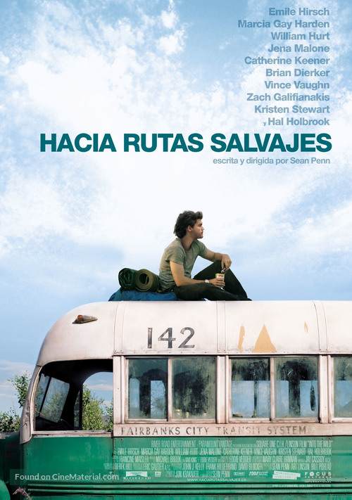 Into the Wild - Spanish Movie Poster