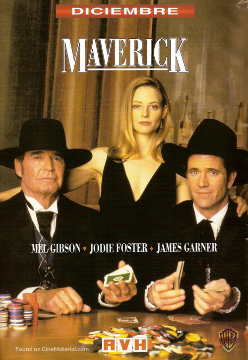 Maverick 1994 Argentinian Movie Poster
