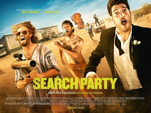 Search Party - British Movie Poster