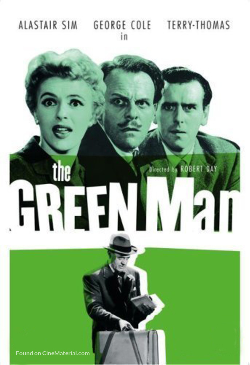 The Green Man - British Movie Cover