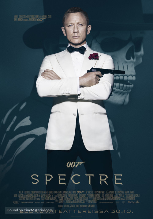 Spectre - Finnish Movie Poster