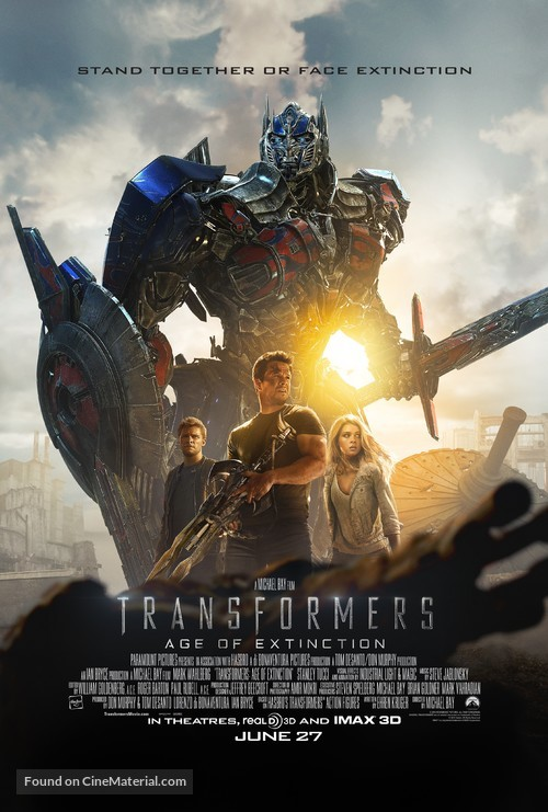Transformers: Age of Extinction - Movie Poster