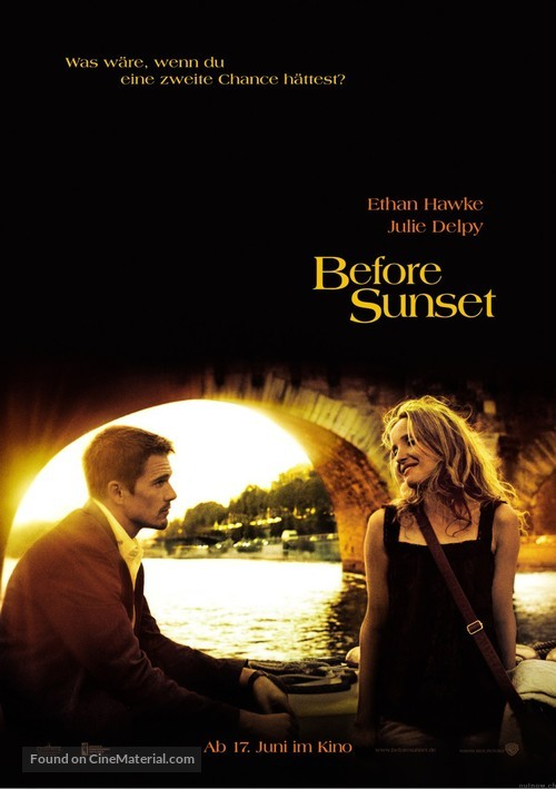 Before Sunset - German Movie Poster