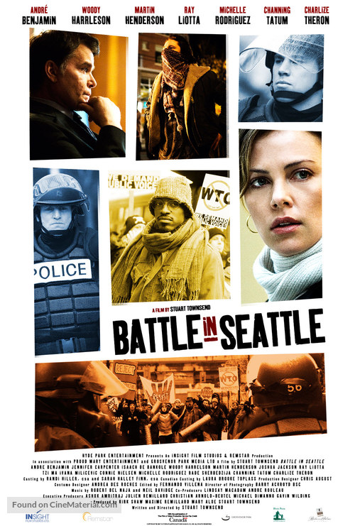 Battle in Seattle - Canadian Movie Poster