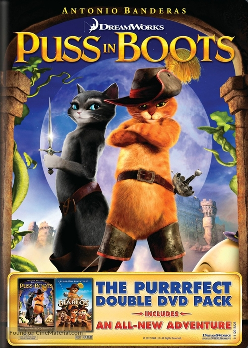 Puss in Boots: The Three Diablos - DVD movie cover