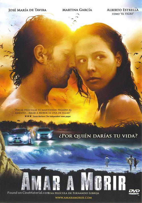 Amar a morir - Mexican Movie Cover