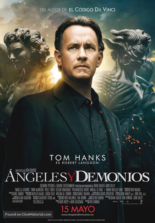 Angels & Demons - Spanish Movie Poster