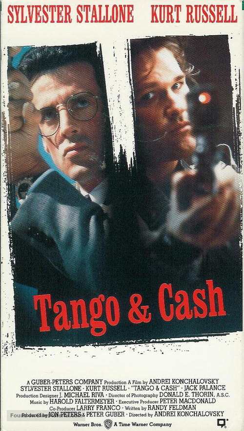 Tango And Cash - VHS movie cover