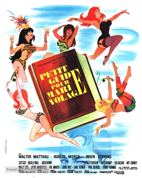 A Guide for the Married Man - French Movie Poster