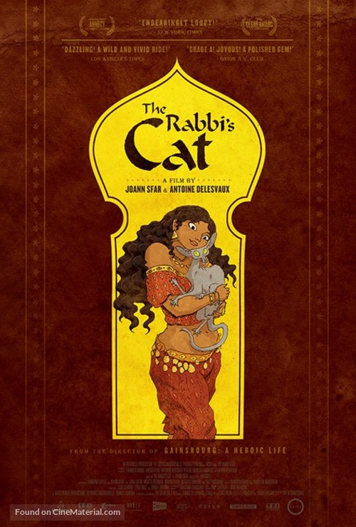 Le chat du rabbin - Movie Poster