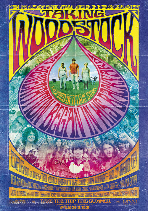 Taking Woodstock - Movie Poster