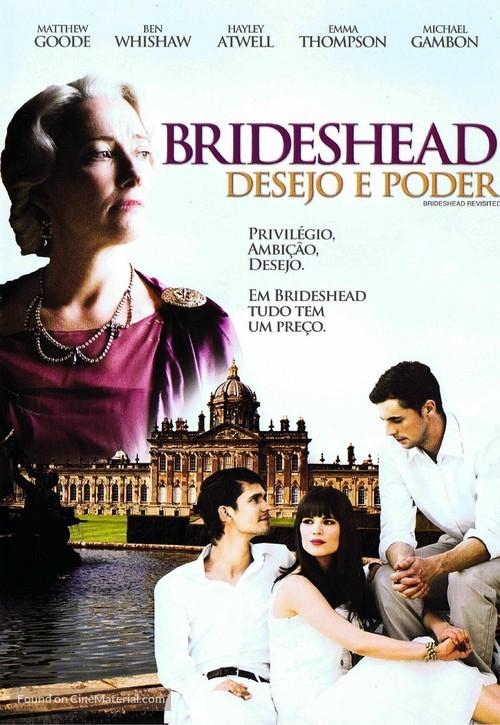 Brideshead Revisited - Brazilian Movie Cover