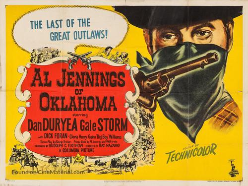 Al Jennings of Oklahoma - British Movie Poster