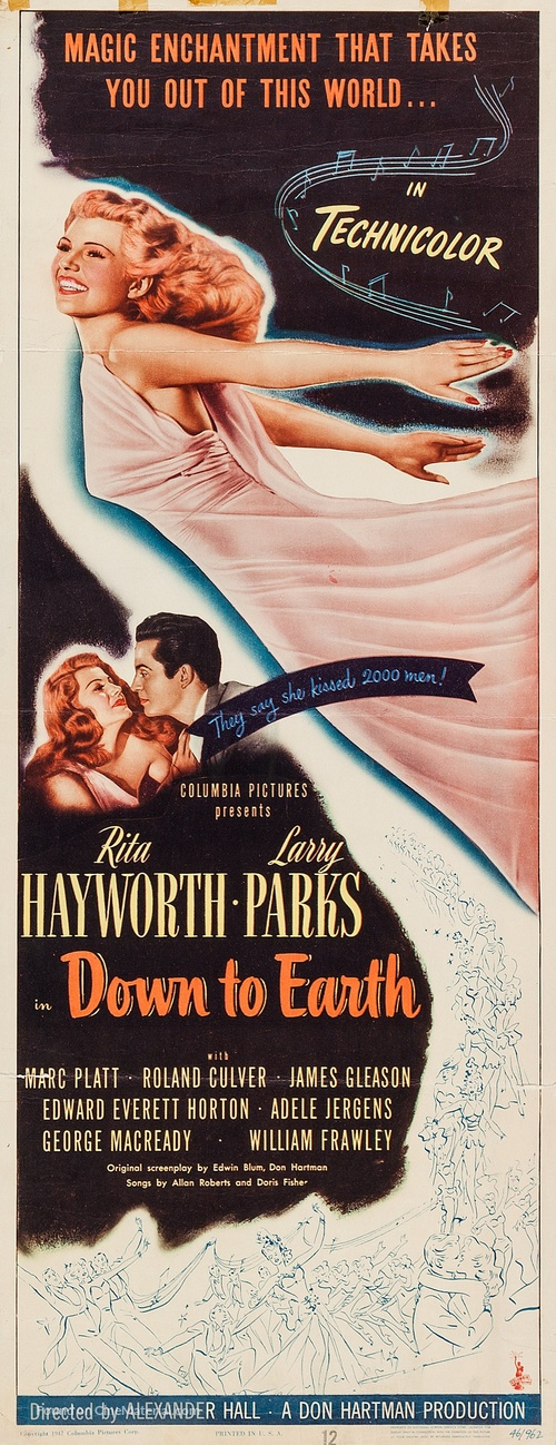 Down to Earth - Movie Poster