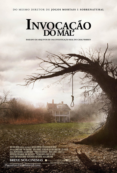 The Conjuring - Brazilian Movie Poster
