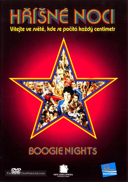 Boogie Nights - Czech DVD movie cover