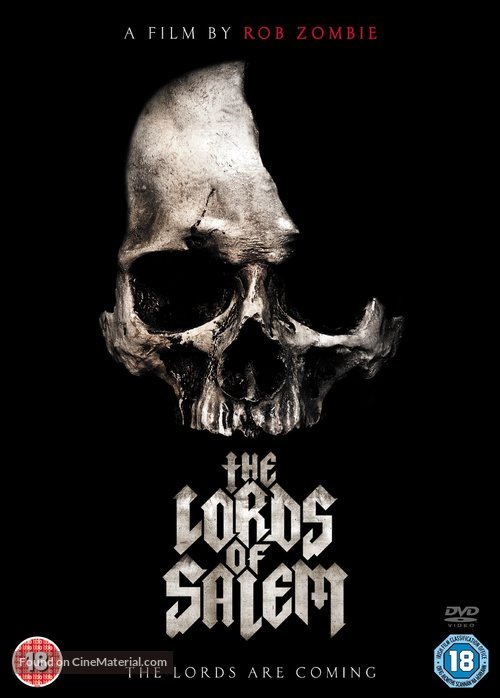 The Lords of Salem - British DVD movie cover