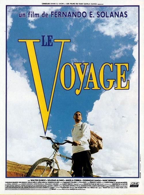 El viaje - French Movie Poster