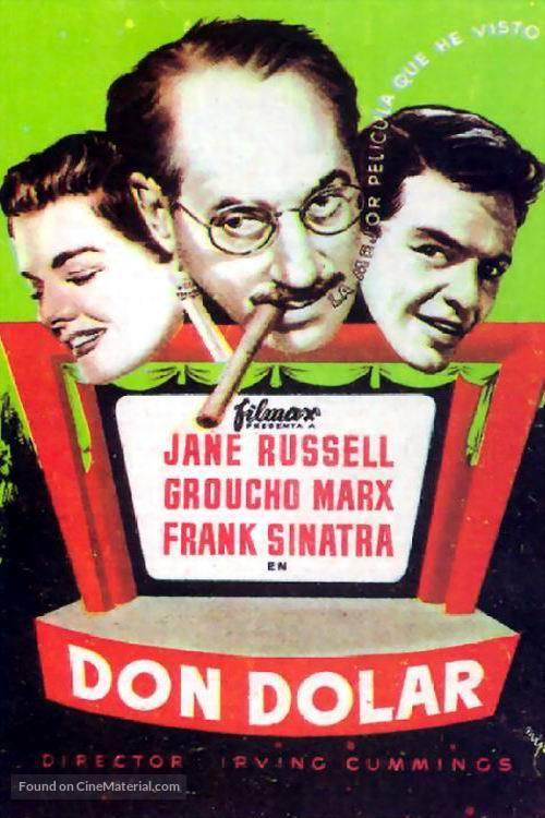 Double Dynamite - Spanish Movie Poster