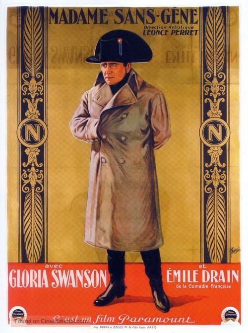 Madame Sans-Gêne - French Movie Poster
