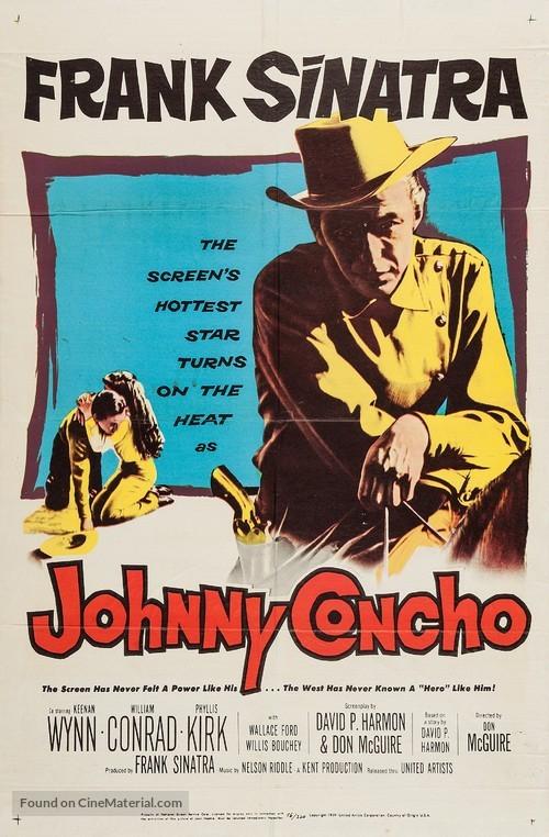 Johnny Concho - Movie Poster