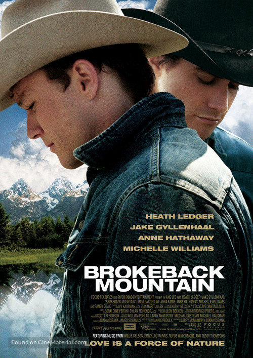 Brokeback Mountain - Movie Poster
