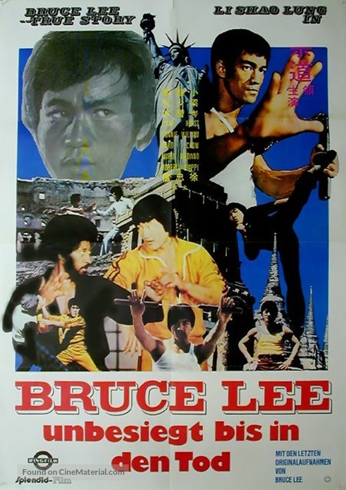 Li Hsiao Lung chuan chi - German Movie Poster