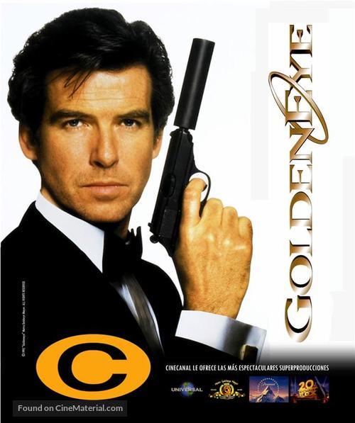 GoldenEye - Argentinian poster
