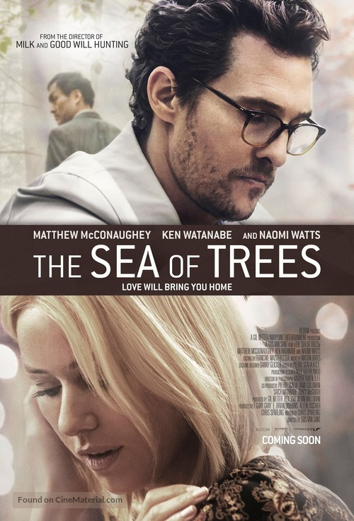 The Sea of Trees - Dutch Movie Poster