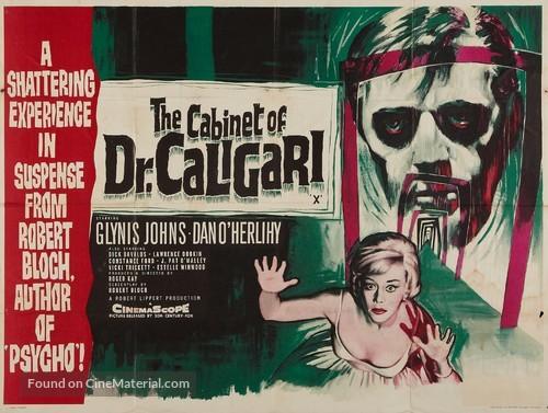 The Cabinet of Caligari - British Movie Poster