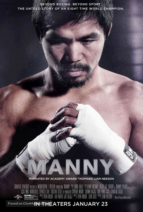 Manny - Movie Poster