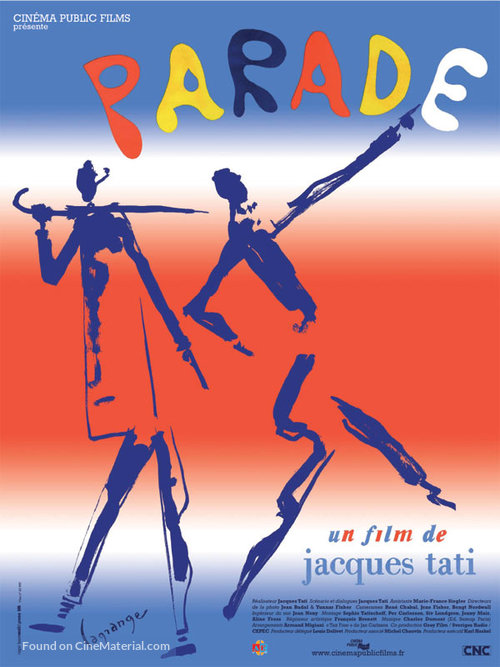 Parade - French Re-release movie poster