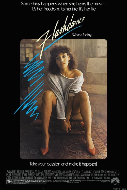 Flashdance - Movie Poster