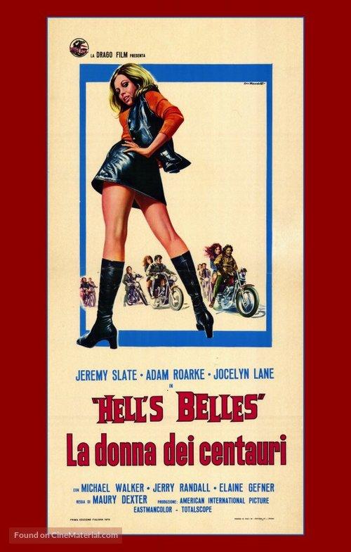 Hell's Belles - Italian Movie Poster