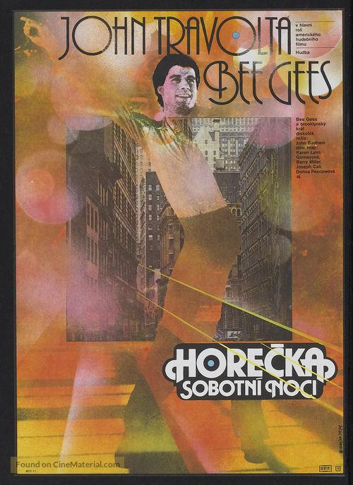Saturday Night Fever - Czech Movie Poster