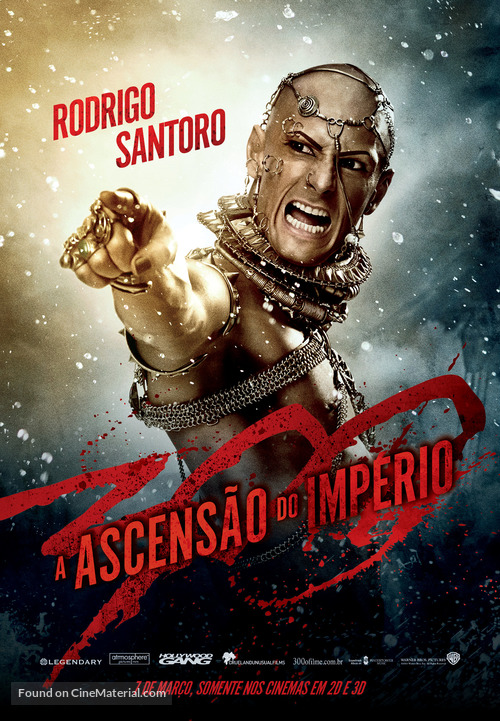 300: Rise of an Empire - Brazilian Movie Poster