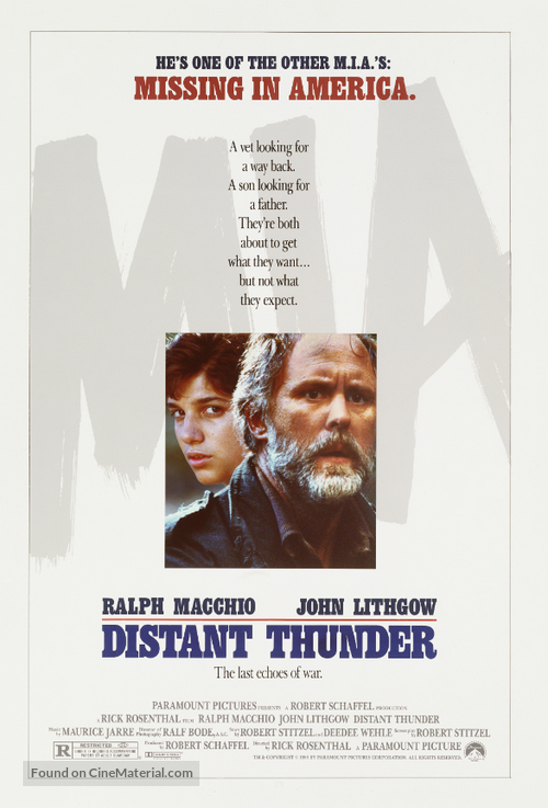 Distant Thunder - poster