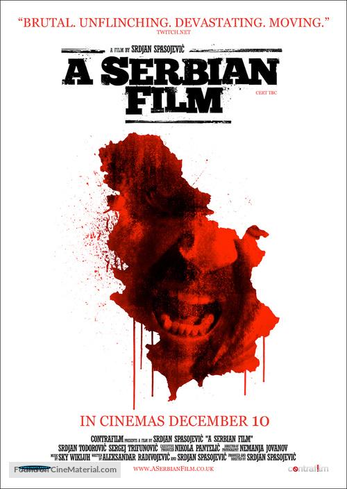 Srpski film - British Movie Poster