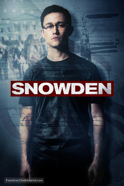 Snowden - Movie Cover