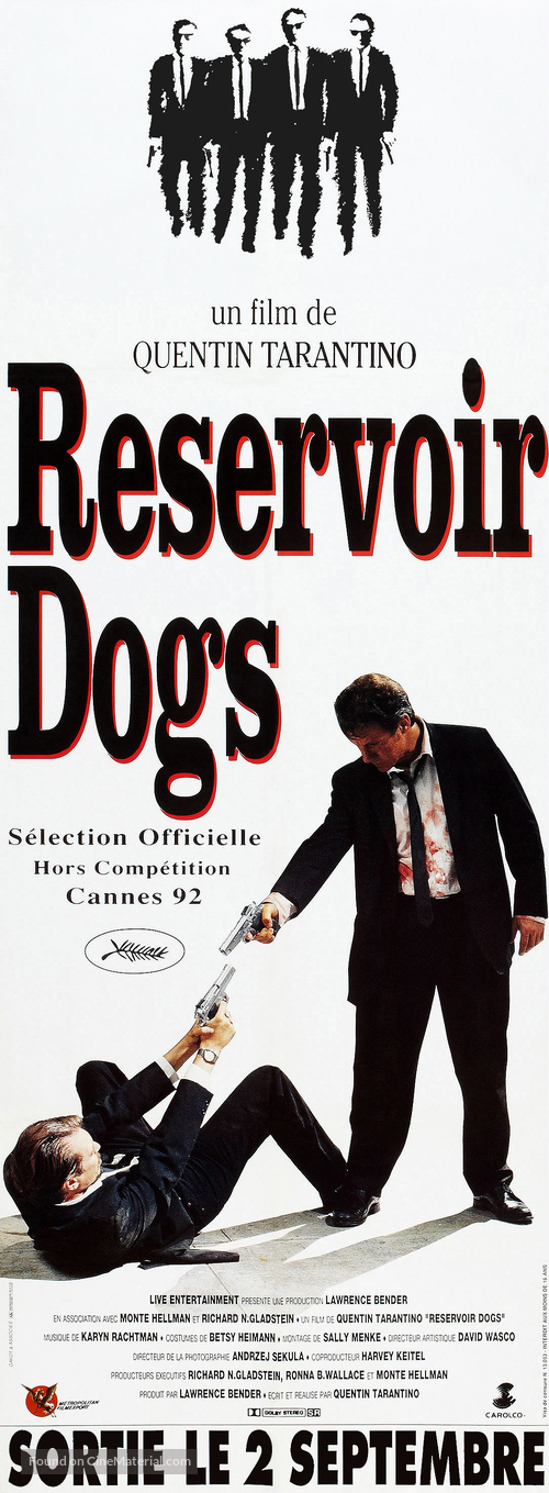 Reservoir Dogs - French Movie Poster