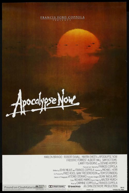Apocalypse Now - Advance poster