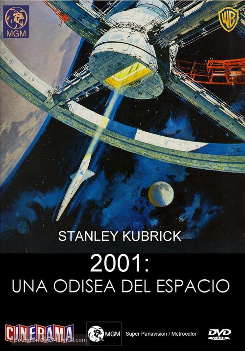2001: A Space Odyssey - Spanish Movie Cover