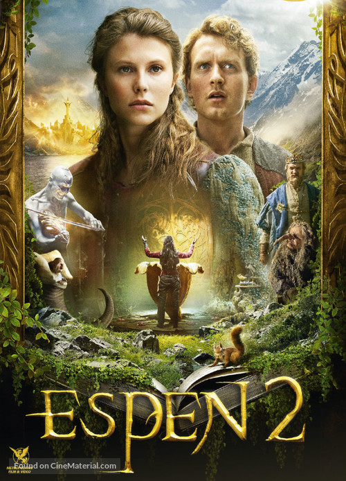 Askeladden - I Soria Moria slott - French DVD movie cover