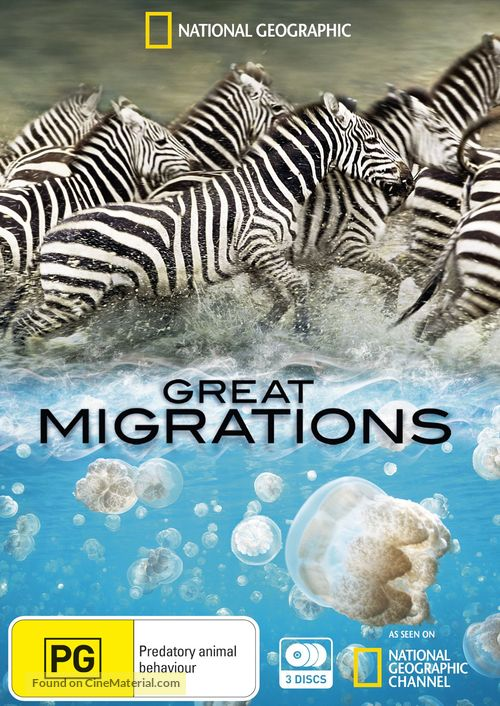 """Great Migrations"" - Australian DVD movie cover"