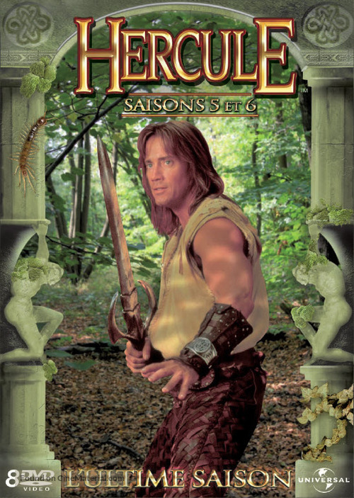"""""""Hercules: The Legendary Journeys"""" - French DVD movie cover"""