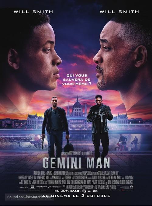 Gemini Man - French Movie Poster