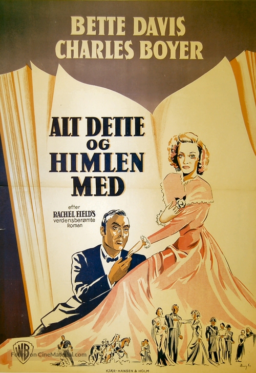 All This, and Heaven Too - Danish Movie Poster