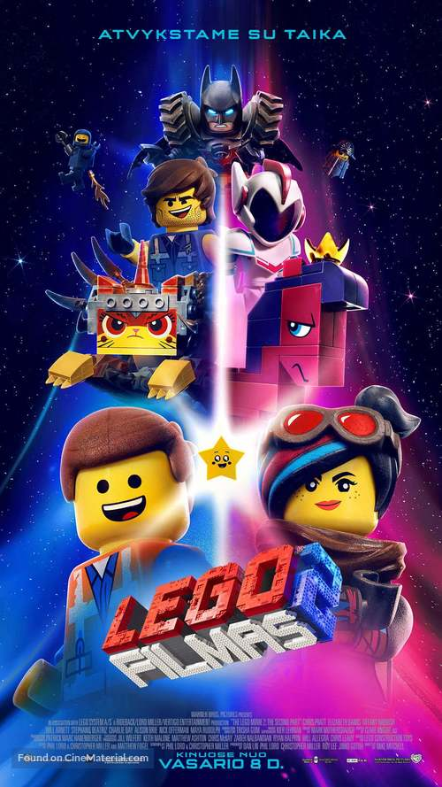 The Lego Movie 2: The Second Part - Lithuanian Movie Poster