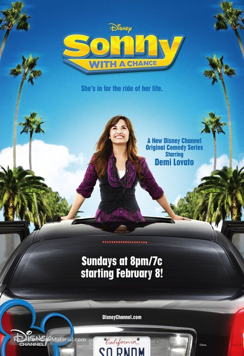 """""""Sonny with a Chance"""" - Movie Poster"""