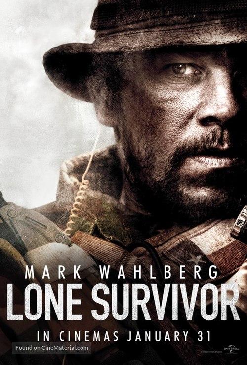 Lone Survivor - British Movie Poster